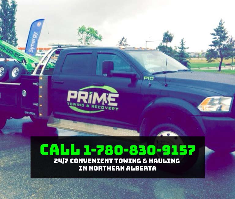 24/7 Convenient Towing & Hauling in Northern Alberta